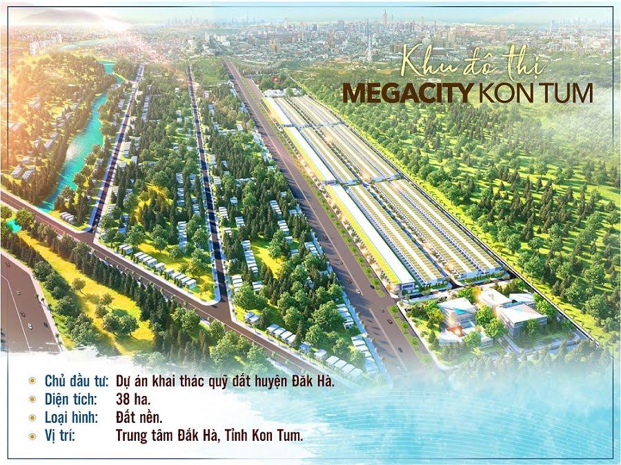 Cập nhật những lô giá rẻ dự án Mega City Kon Tum mua đầu tư sinh lời ngay