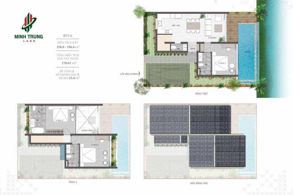 Thiết kế chi tiết BT1A dự án Casamia Calm