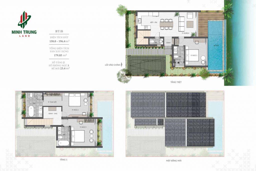Thiết kế chi tiết BT1 dự án Casamia Calm