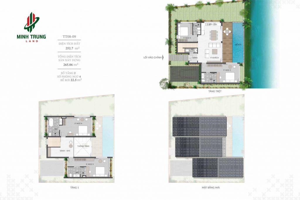 Thiết kế chi tiết BT2 dự án Casamia Calm