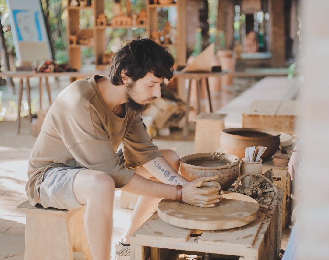 Du lịch tại làng Gốm Thanh Hà