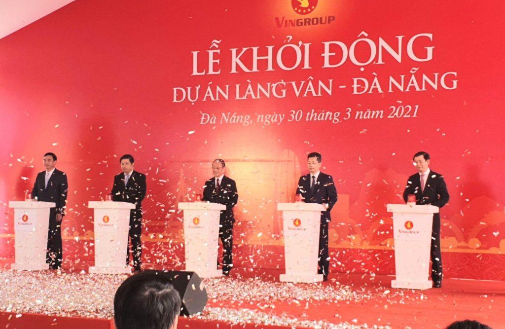 Lễ khởi công dự án Vinpearl Làng Vân
