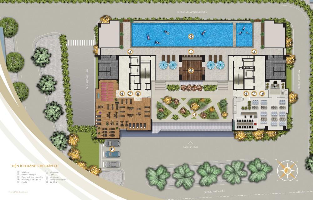 Tiện ích dự án The SANG Residence