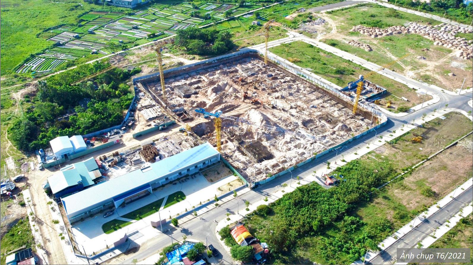 Tiến độ xây dựng The Ori Garden Đà Nẵng