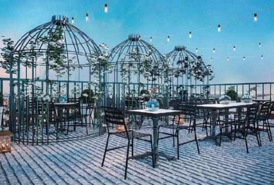 Quán Cafe Diamond Square